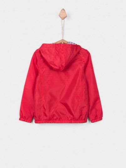 Jacket Girl Red Tiffosi Kids