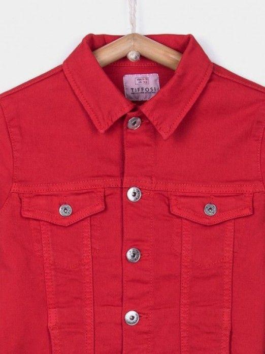 Jacket Girl Red Tiffosi Kids