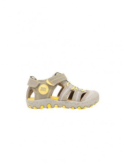 Sandals Boy Grey Gioseppo