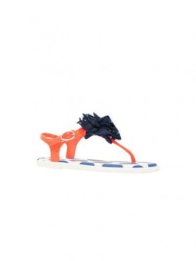 Sandali Ragazza Arancione Gioseppo