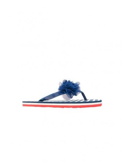 Flip Flops Girl Blue Gioseppo