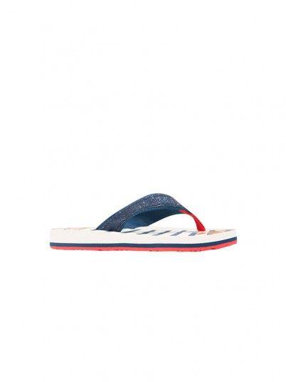 Flip Flops Girl Navy Blue Gioseppo