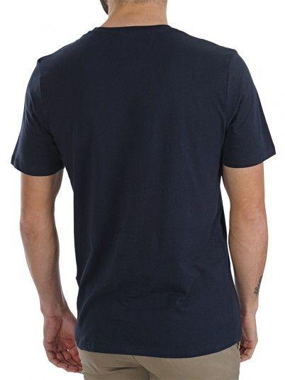 T-Shirt Man Dark Blue Jack & Jones