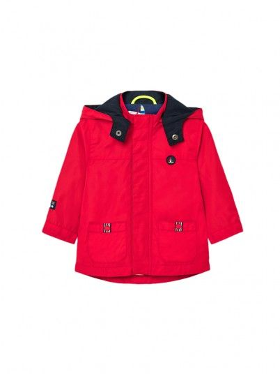 Jacket Baby Boy Red Mayoral