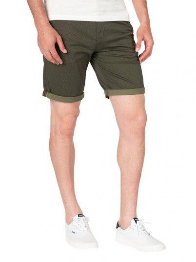 Pantalones Cortos Hombre Verde Oscuro Jack & Jones