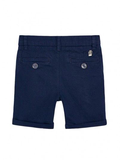 Pantaloncini Ragazzo Blu Navy Mayoral