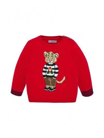 Knitwear Baby Boy Red Mayoral
