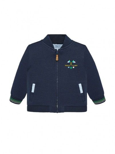 Jacket Baby Boy Navy Blue Mayoral