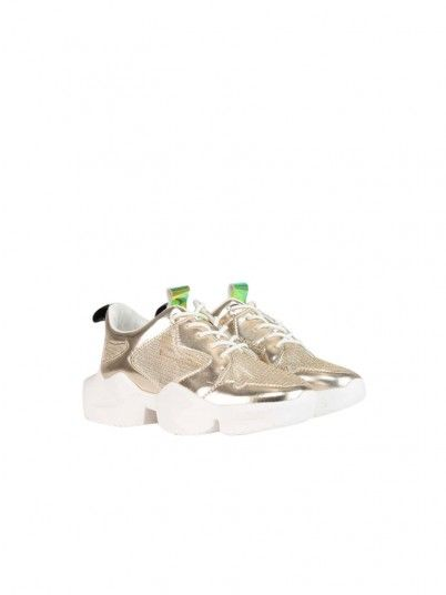 Sneakers Woman Golden Fracomina