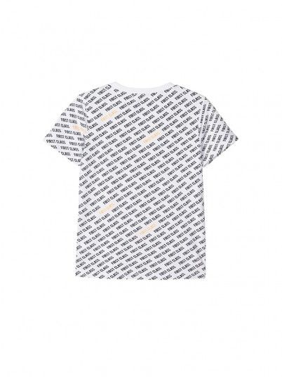 T-Shirt Boy White Name It