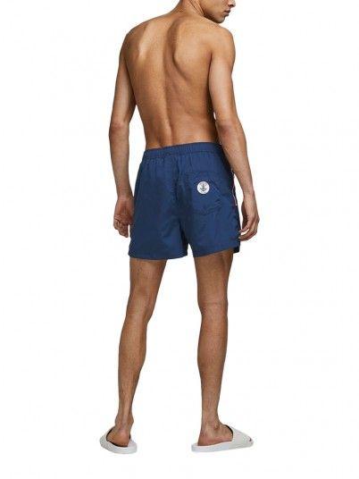 Pantalones Cortos Hombre Azul Marino Jack & Jones