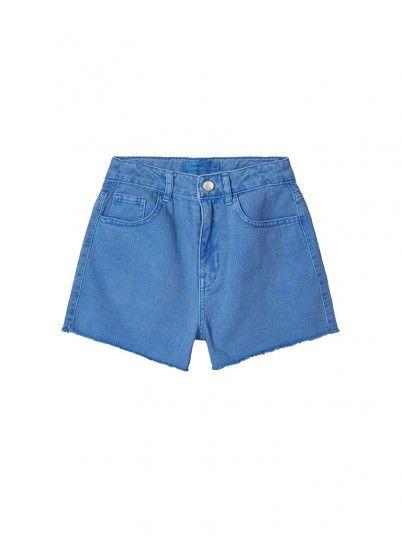 Pantalones Cortos Niña Azul Name It