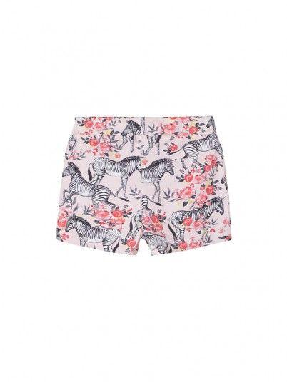 Pantalones Cortos Niña Rosa Name It
