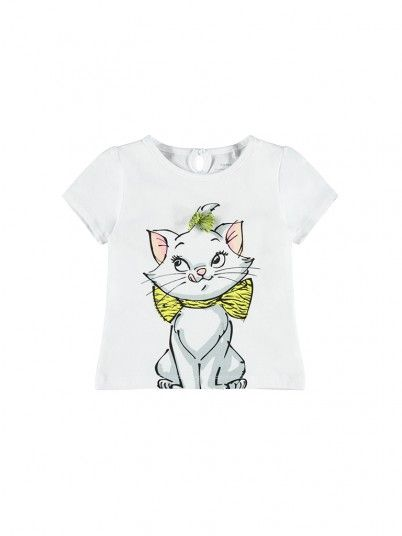 T-Shirt Girl White Name It