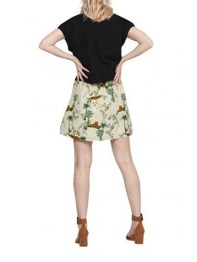 Skirt Woman Cream Only
