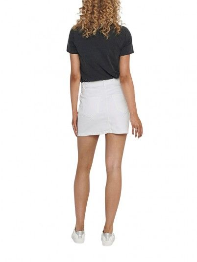 Skirt Woman White Only