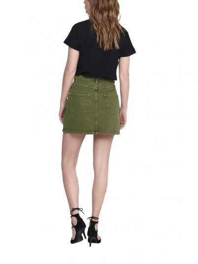 Skirt Woman Green Only