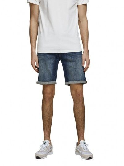 Pantalones Cortos Hombre Jeans Jack & Jones