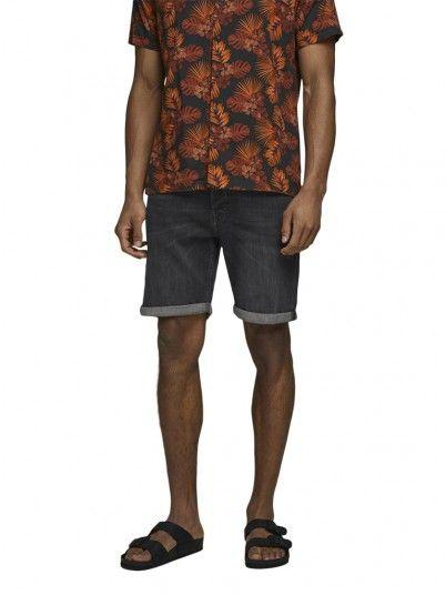 Pantalones Cortos Hombre Negro Jack & Jones