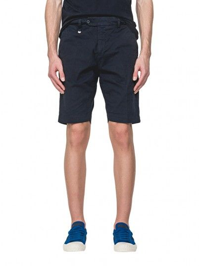 Shorts Man Dark Blue Antony Morato