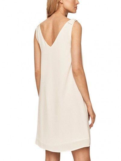 Vestido Mujer Blanco Vila
