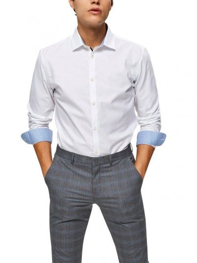 Chemise Homme Blanc Selected