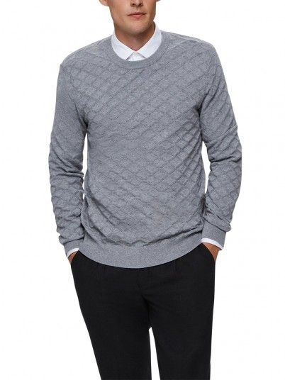 Engrener Homme Gris Selected