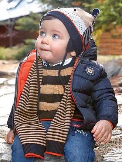 Blusão Com Saco Bebé Menino Mayoral