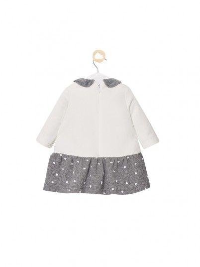 Robe Petite Fille Gris Mayoral