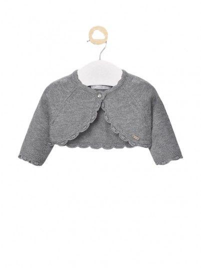 Jacket Baby Girl Grey Mayoral