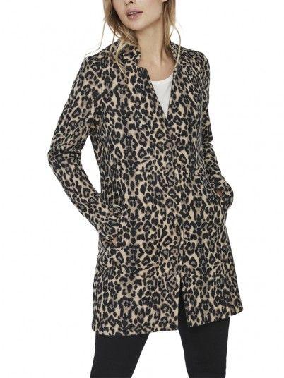 Jacket Woman Animal Print Vero Moda