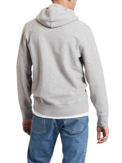 Sweatshirt Homme Gris Levis