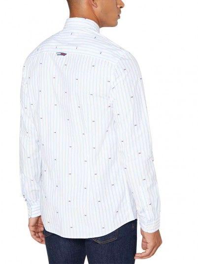 Camisa Homem Flag Tommy Jeans