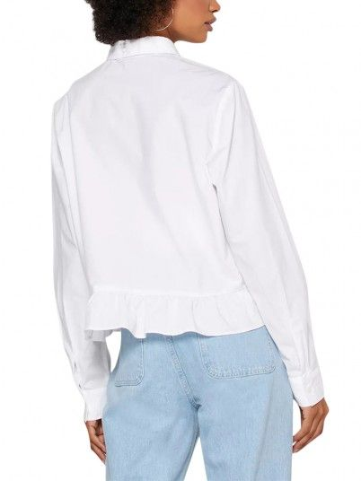 Camisa Mulher Frill Tommy Jeans