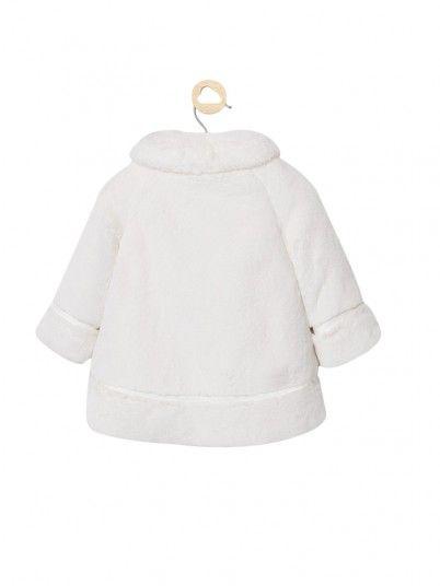 Veste Petite Fille Blanc Mayoral