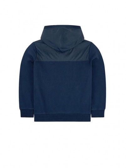 Sweatshirt Garçon Bleu Marine Pepe Jeans London