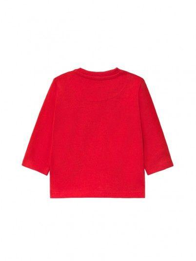 Sweatshirt Petit Garçon Rouge Mayoral