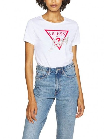 T-Shirt Mulher Icon Guess
