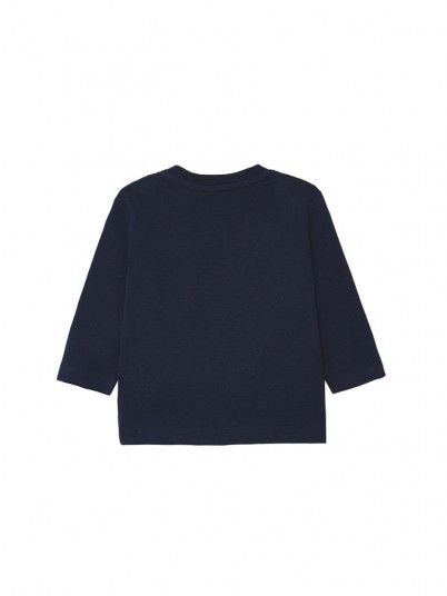 Sweatshirt Petit Garçon Bleu Marine Mayoral