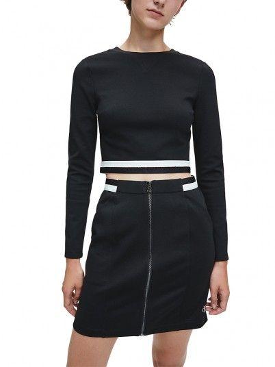 Sweatshirt Woman Black Calvin Klein