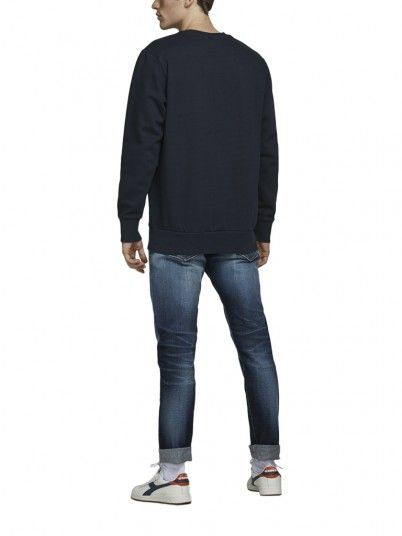 Sweatshirt Homem Station Jack Jones