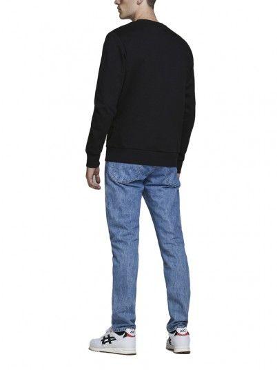 Sweatshirt Homme Noir Jack & Jones
