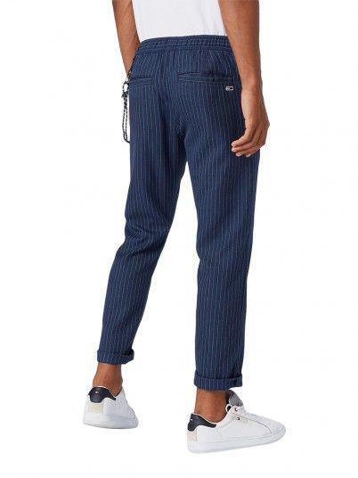 Pants Man Navy Blue Tommy Jeans