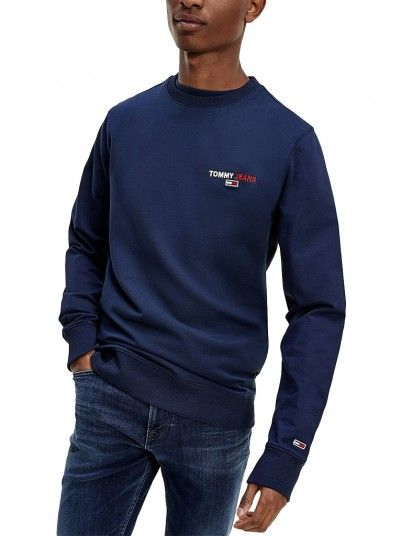 Sweatshirt Homem Chest Graphic Tommy Jeans