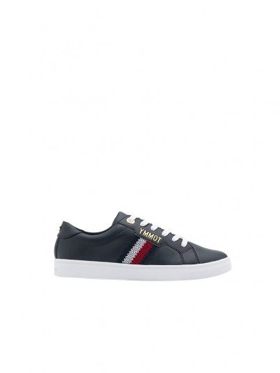 Sapatilha Mulher Lace Up Tommy Jeans