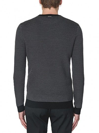Knitwear Man Dark Grey Antony Morato
