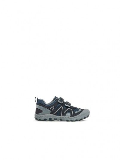 Sneakers Boy Navy Blue Gioseppo