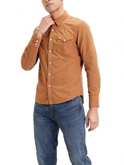 Camisa  Manga Comprida Homem Barstow Levis