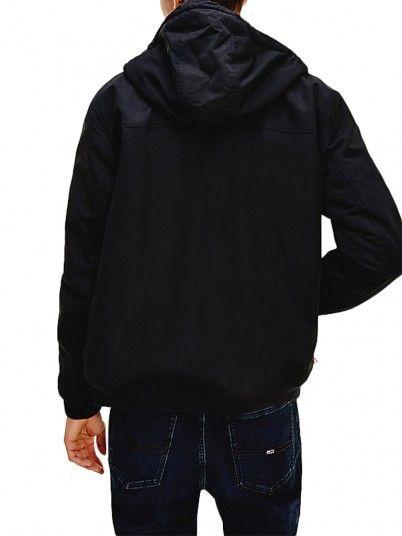 Jacket Man Black Tommy Jeans