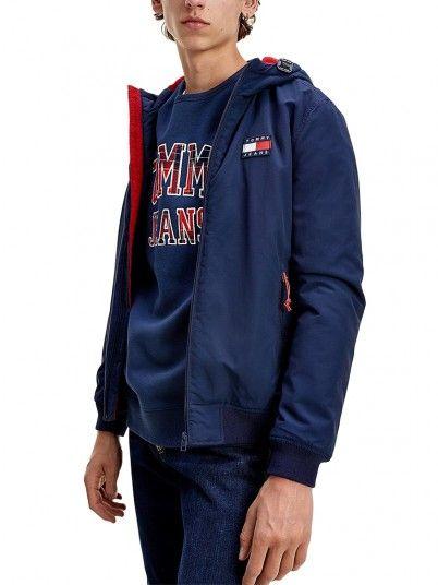 Jacket Man Navy Blue Tommy Jeans